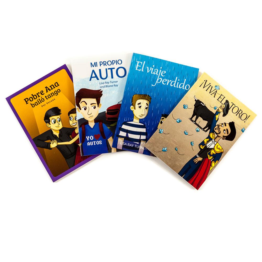TPRS Books/Blaine Ray Spanish Level 2 FVR Library Bundle