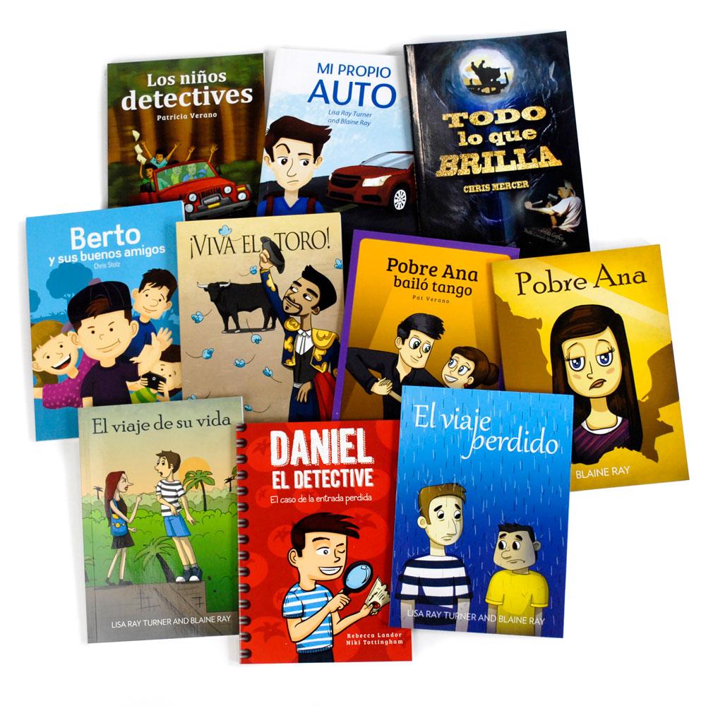 TPRS Books/Blaine Ray Spanish Level 1–3 FVR Library Bundle