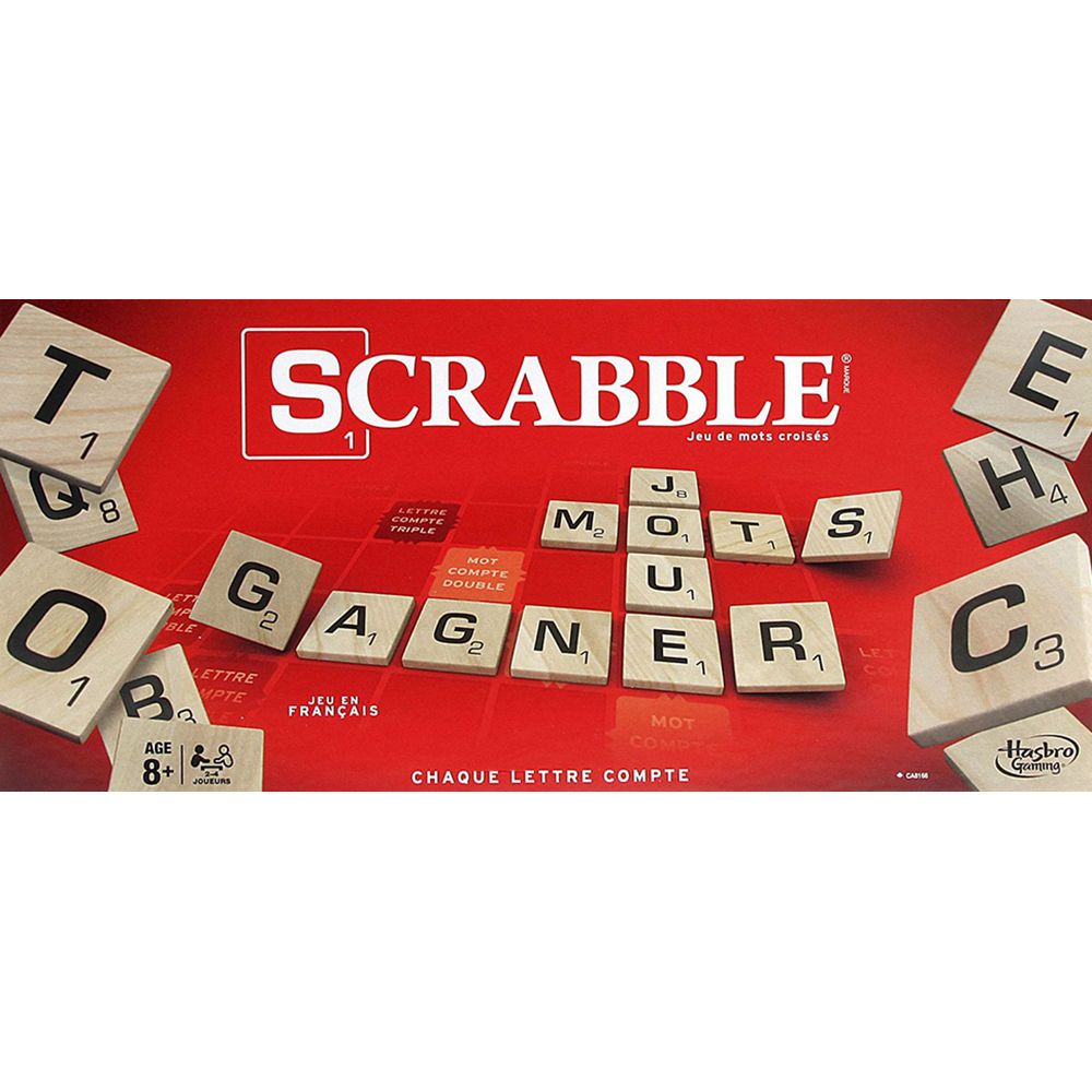 French Scrabble Game