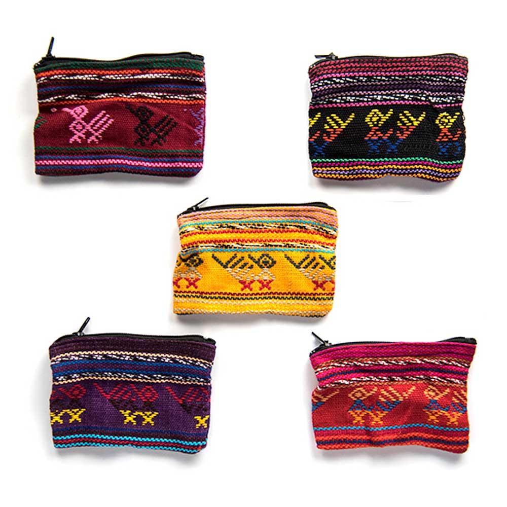 Mini Woven Pouch from Guatemala