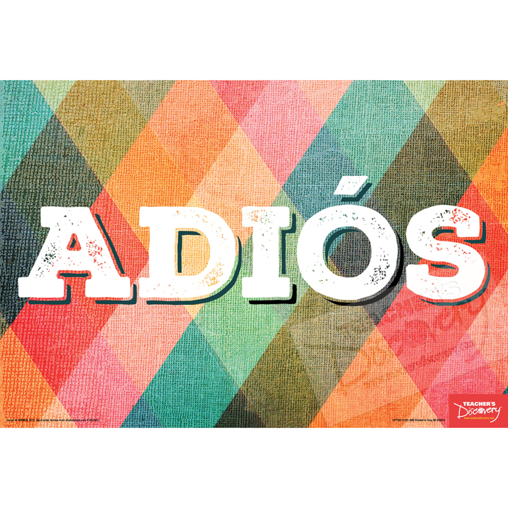 Goodbye Spanish Mini-Poster