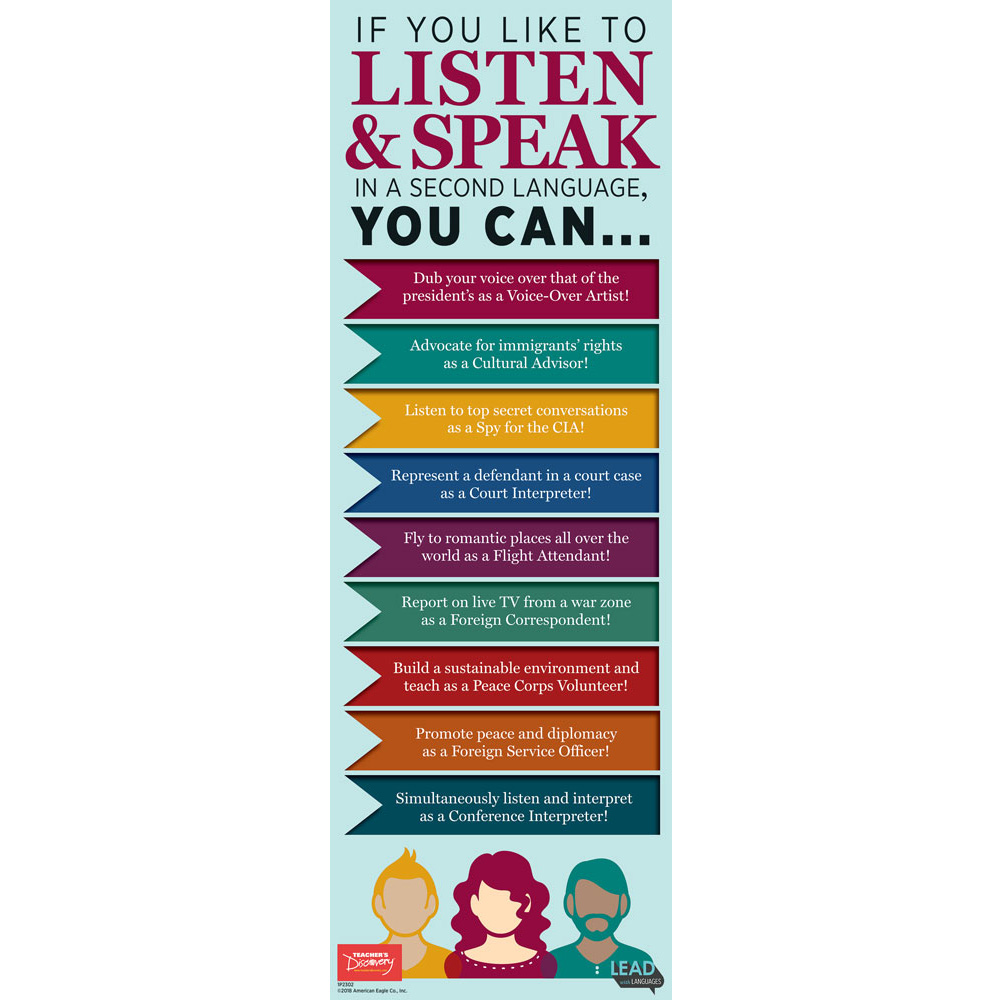 If You Like to Listen and Speak Skinny Poster
