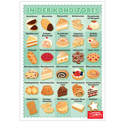 Pastry German Poster