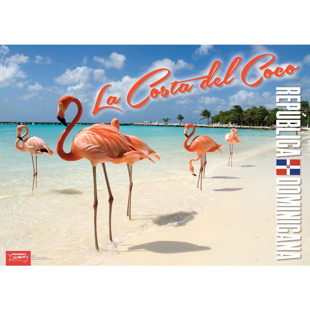 Dominican Republic Spanish Travel Poster