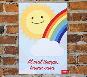 Good Face Spanish Mini-Poster