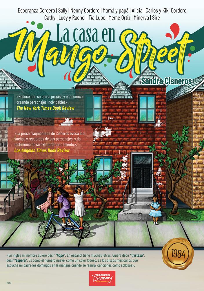 La casa en Mango Street Marquee Spanish Poster