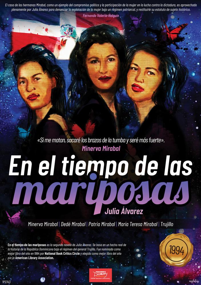 En el tiempo de las mariposas Marquee Spanish Poster