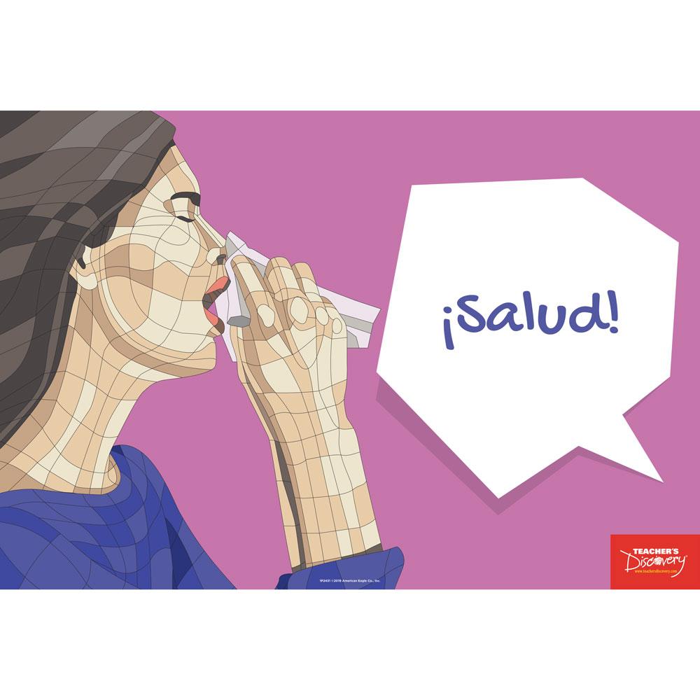 ¡Salud! Spanish Mini-Poster