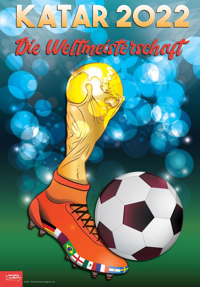 Katar World Cup German Poster
