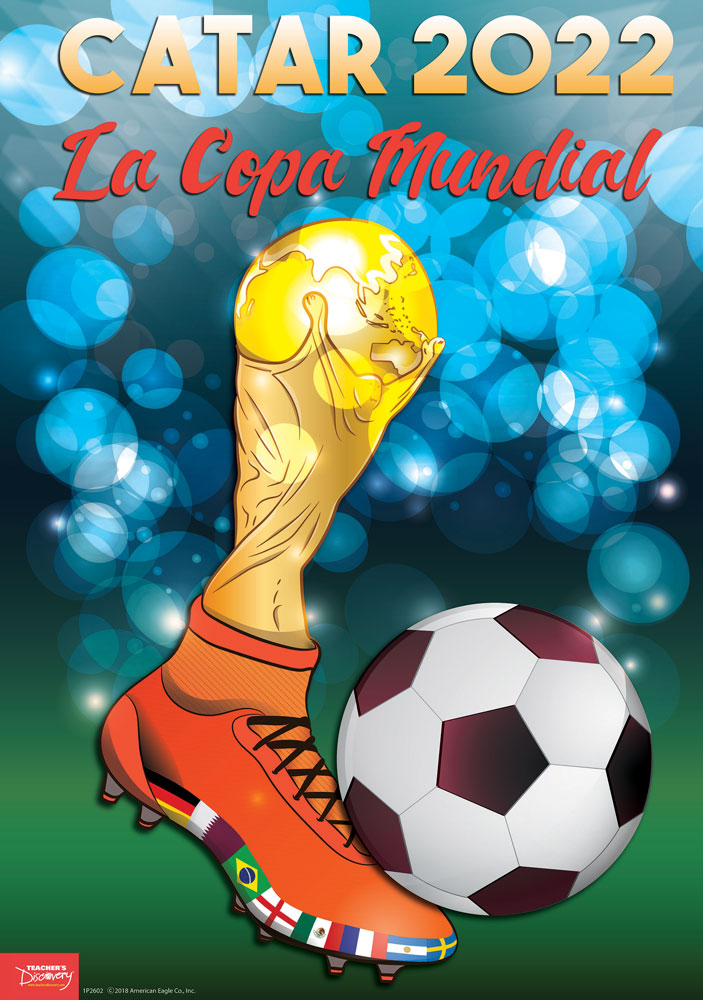 Catar World Cup Spanish Poster