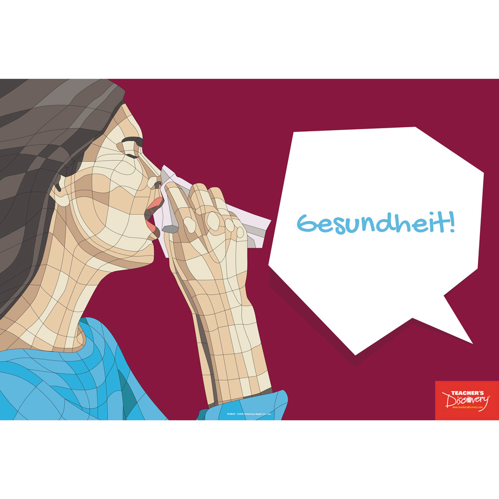 Gesundheit! German Mini-Poster