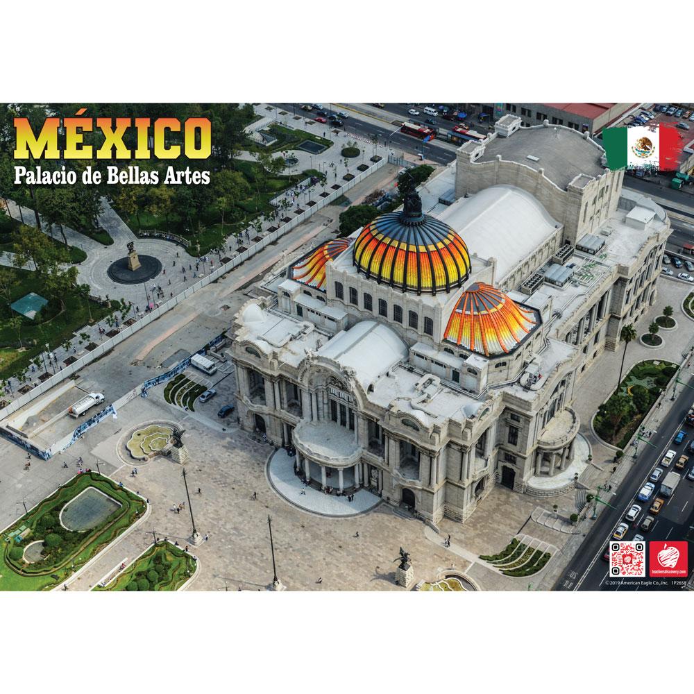 Palacio de Bellas Artes México Enhanced® Spanish Travel Poster