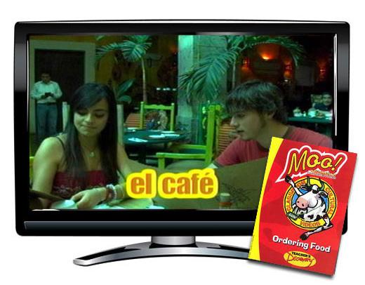 Moo!™ Ordering Food Spanish Video