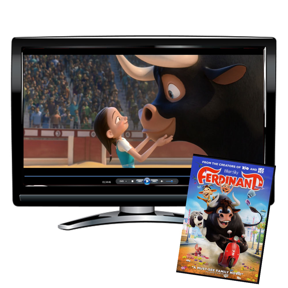 Ferdinand Spanish/French/English DVD