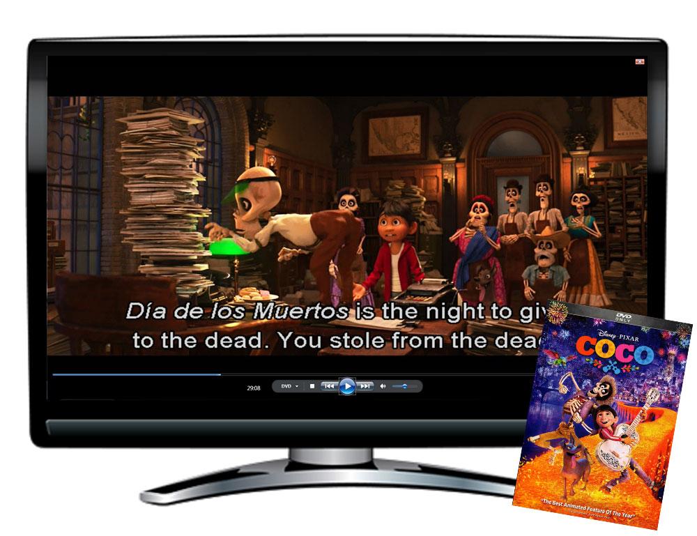 Coco Spanish/English Movie