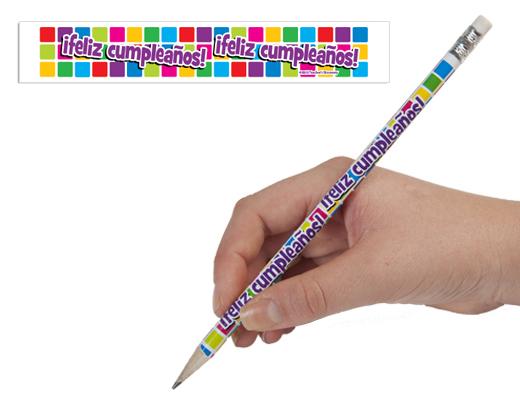 Spanish Birthday Enhanced® Pencils
