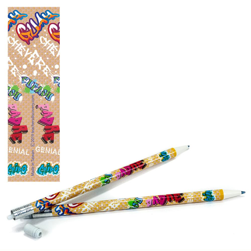 COOL! Spanish Mechanical Enhanced® Pencils - One Dozen