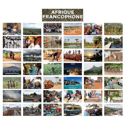 French-Speaking Africa Bulletin Board Set