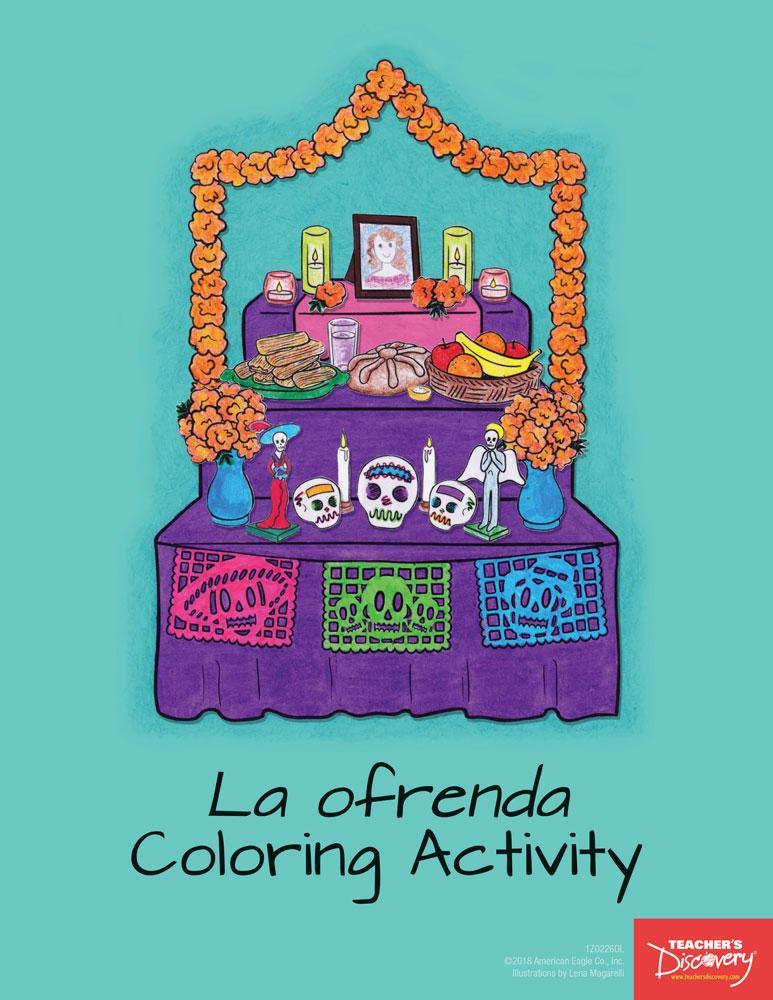 La ofrenda Coloring Activity Download