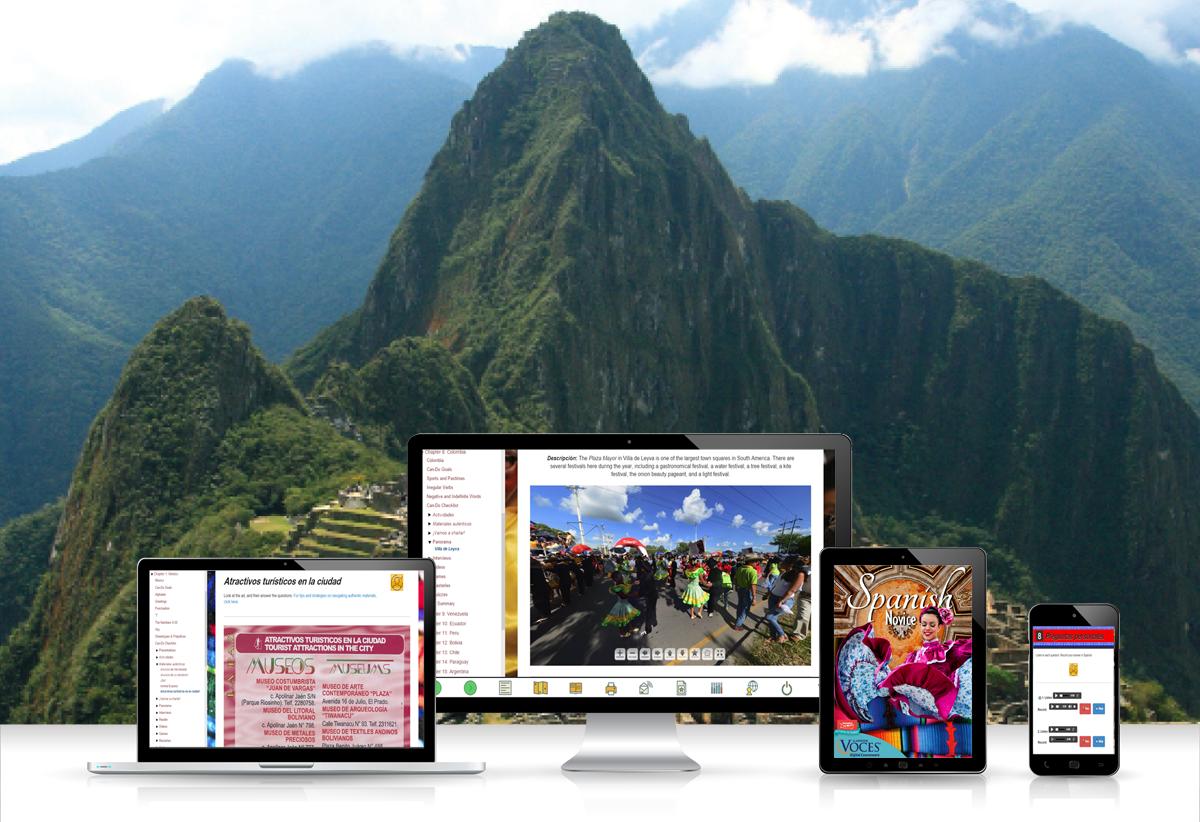 Voces® Spanish Novice Digital Resource Subscription - Hybrid Learning Resource