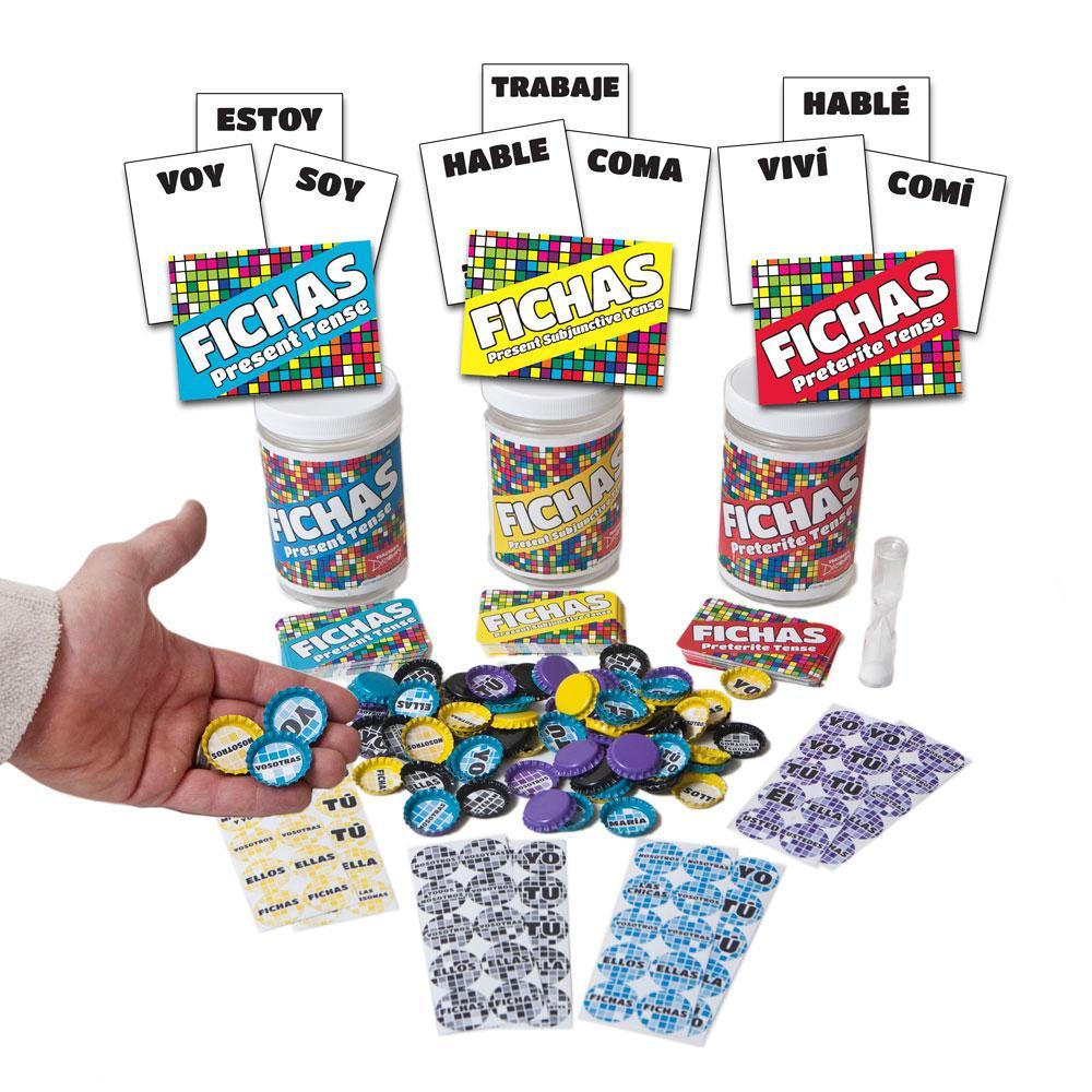 Fichas Verb Conjugation Games