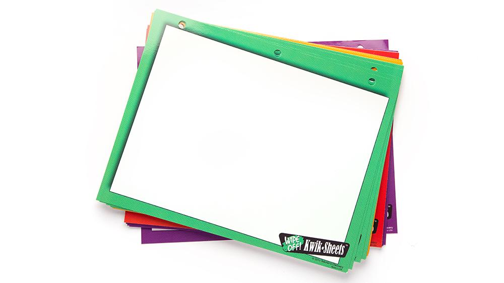 Five-Color Kwik Sheets™