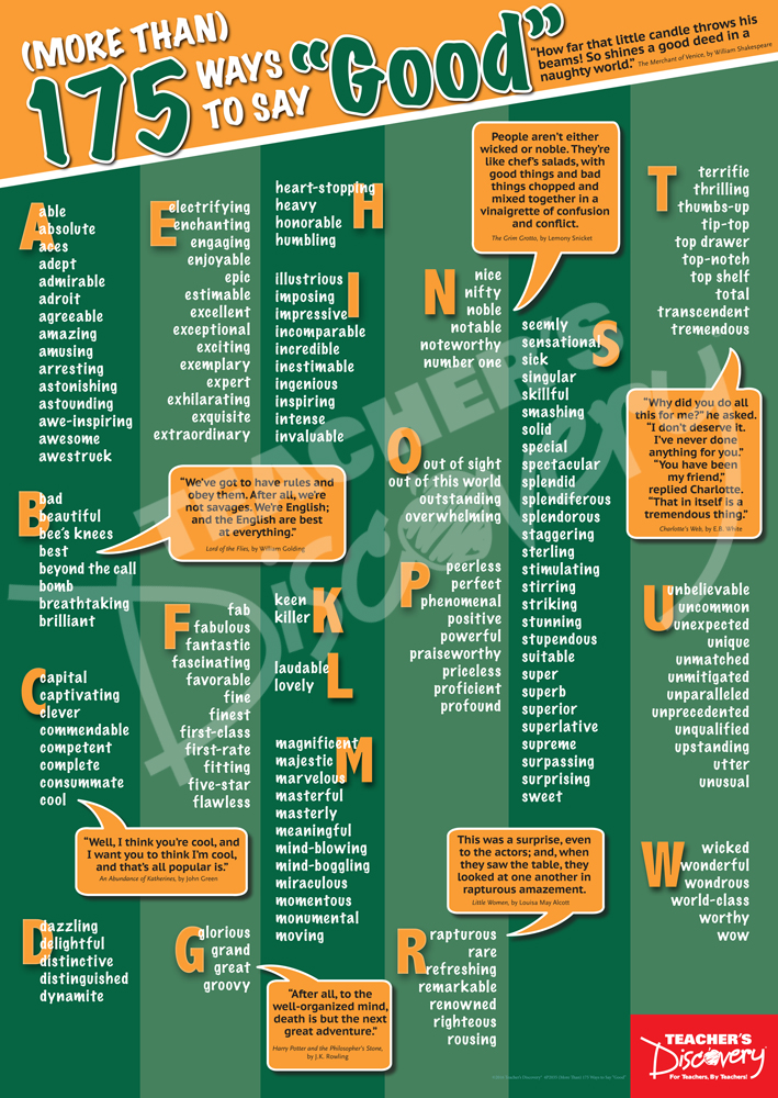 (More Than) 175  Ways to Say