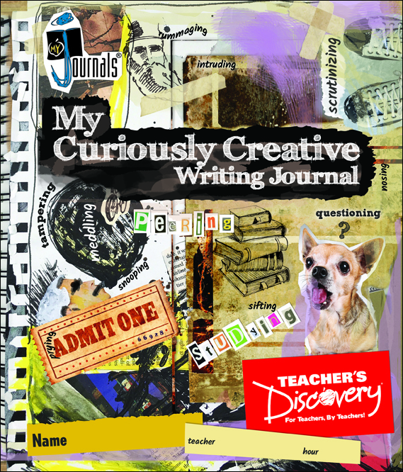 My Curiously Creative Writing Journal Print Set of 30