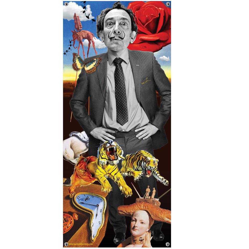 Salvador Dali Vinyl Banner