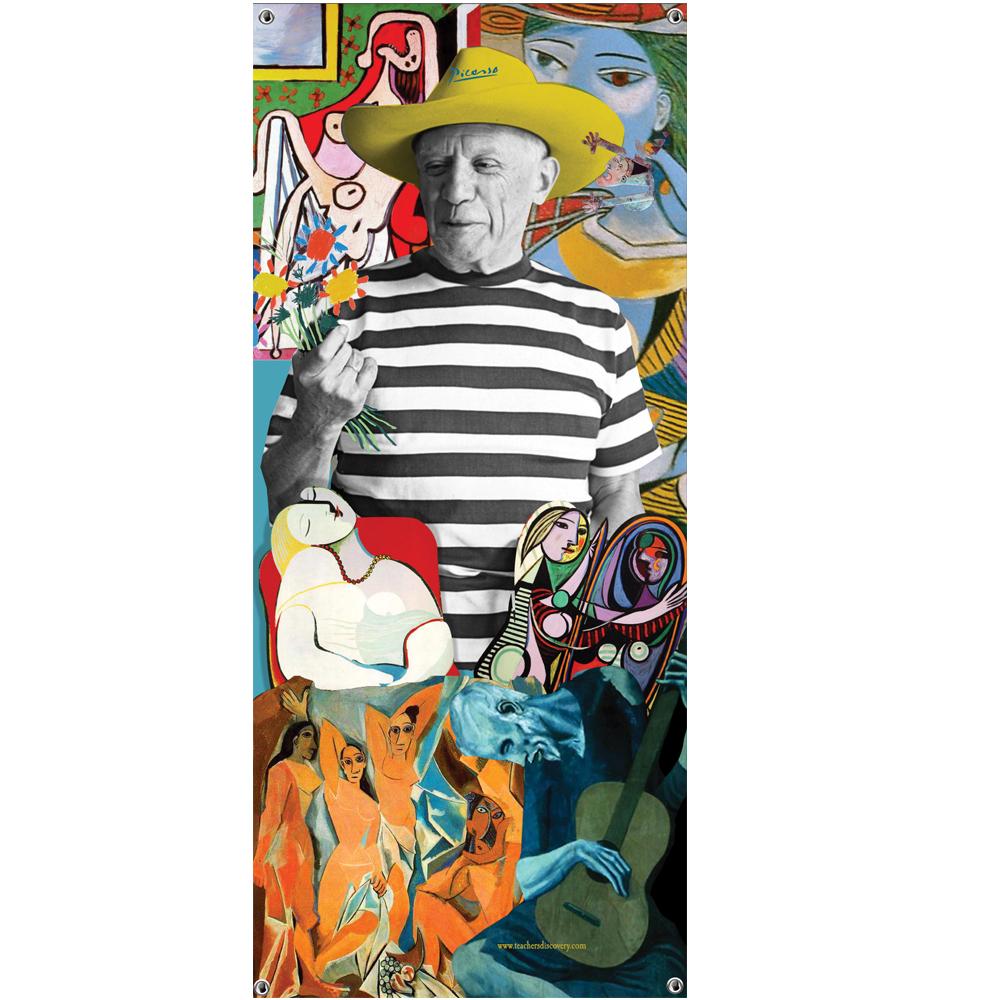 Pablo Picasso Vinyl Banner