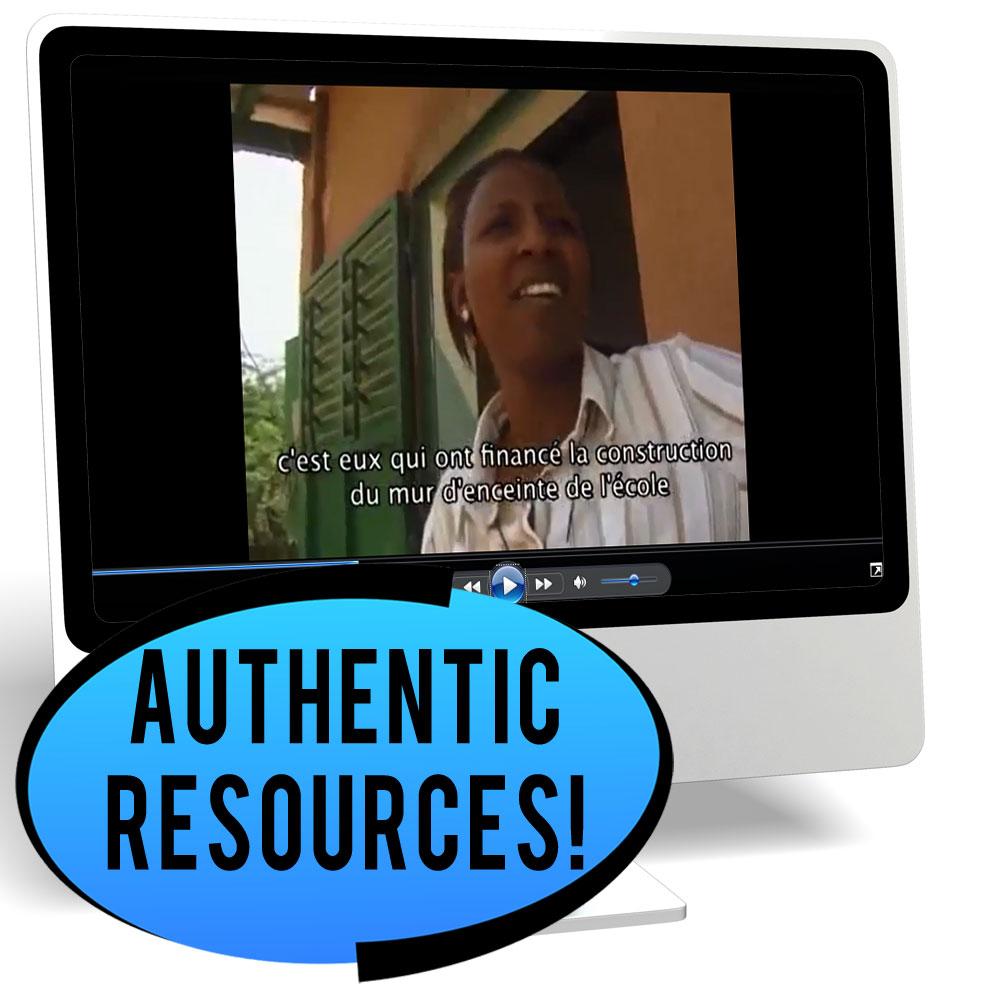 L'éducation au Sénégal Novice-High French IPA Pack - DIGITAL RESOURCE DOWNLOAD
