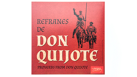 Refranes de Don Quijote Mini-Posters - Set of 13