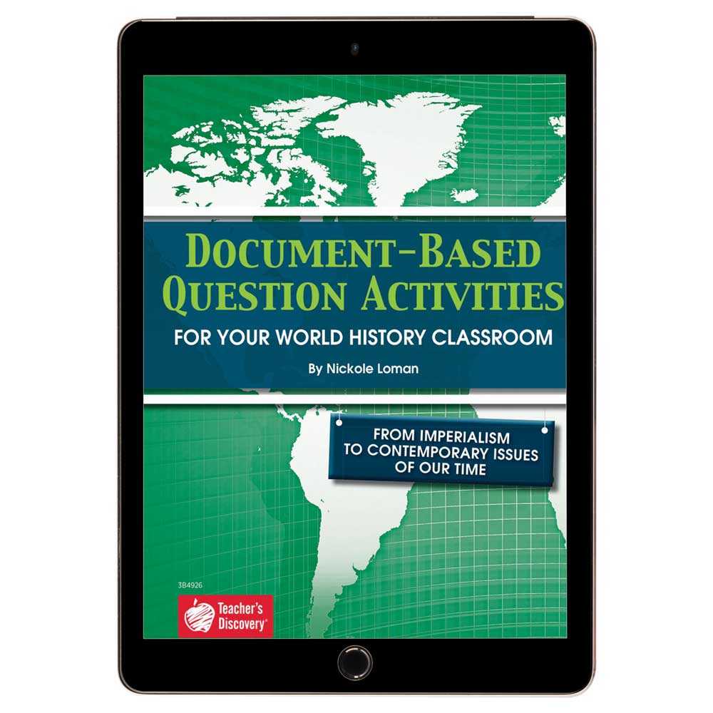 Document-Based Question Activities: From Imperialism to Contemporary Issues of Our Time Book