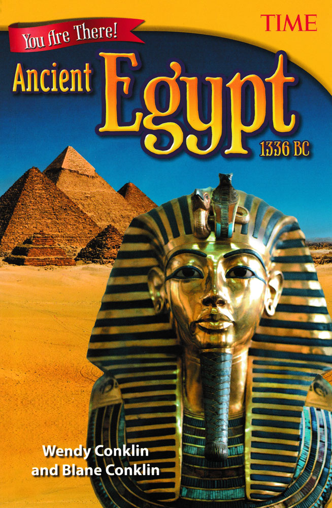 You Are There! Ancient Egypt 1336 BC Book (920L) - You Are There! Ancient Egypt 1336 BC Print Book