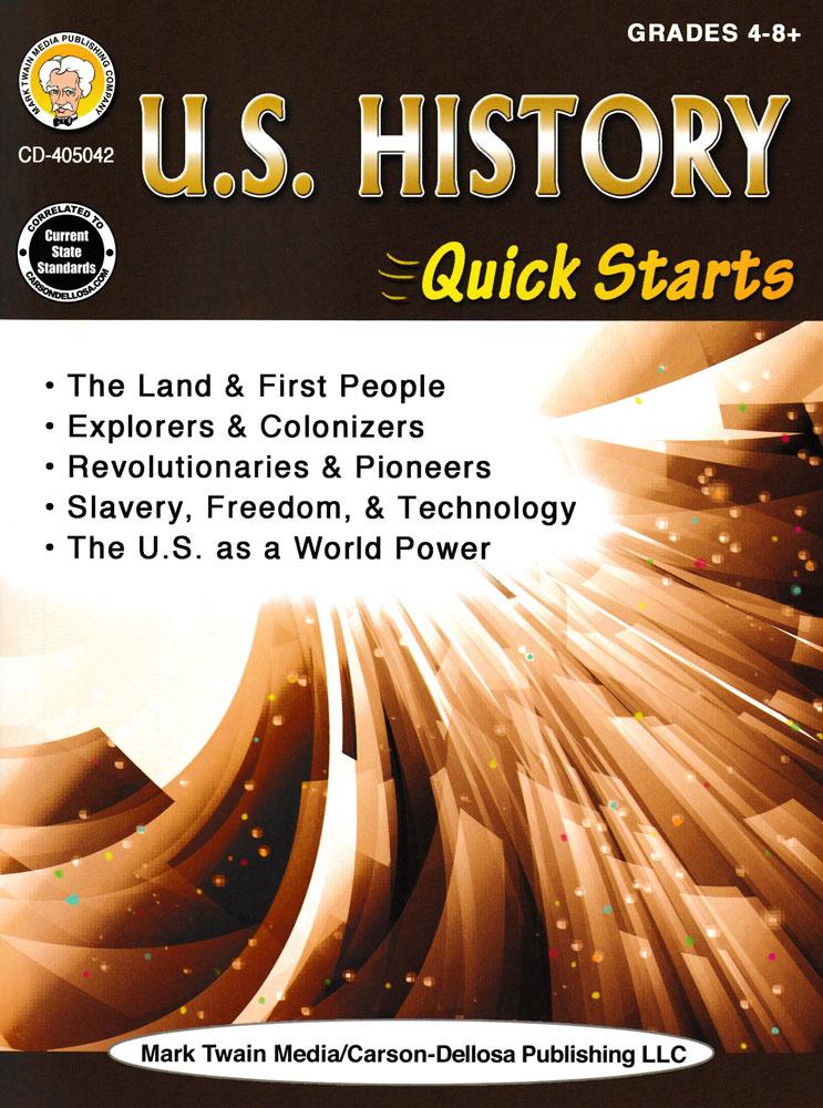 U.S. History Quick Starts Book