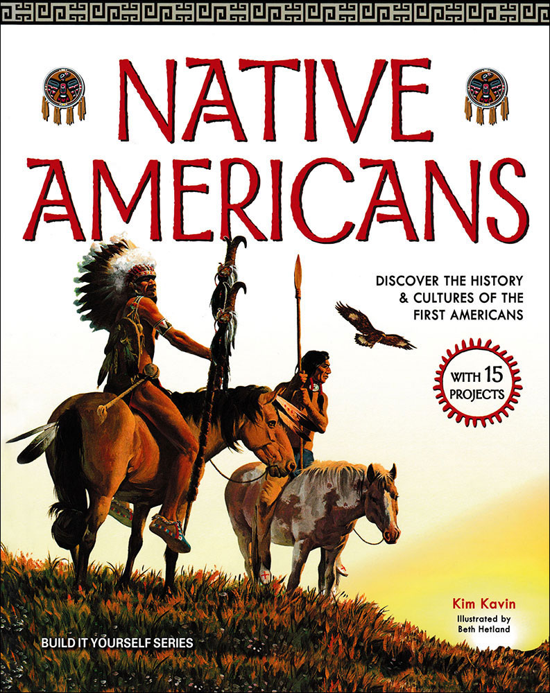 Build It Yourself: Native Americans Book