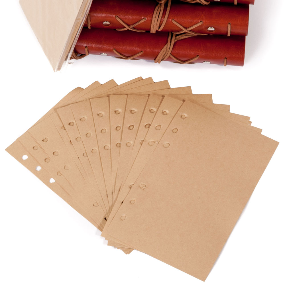 Blank Journal Refill Pages