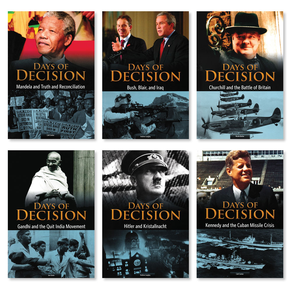 Days of Decision Books - Set of 6 (1020L–1110L)