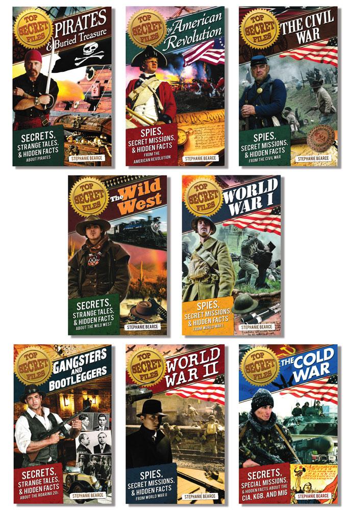Top Secret Files Books Set of 8