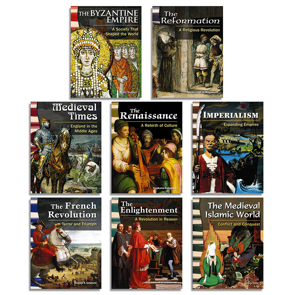 Eras of World History Primary Source Readers - Set of 8