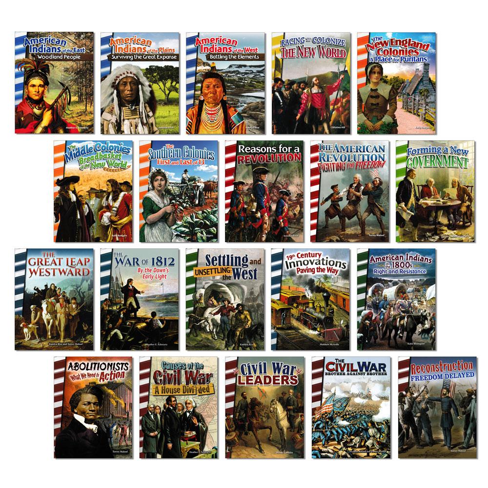 American History Readers - Set of 20
