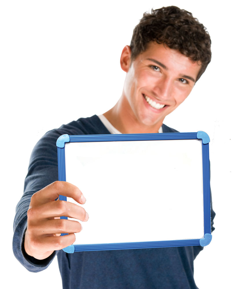 Magnetic Student Dry-Erase Whiteboard