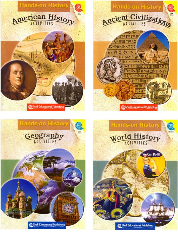 Hands-On History Activities - Set of 4 Books
