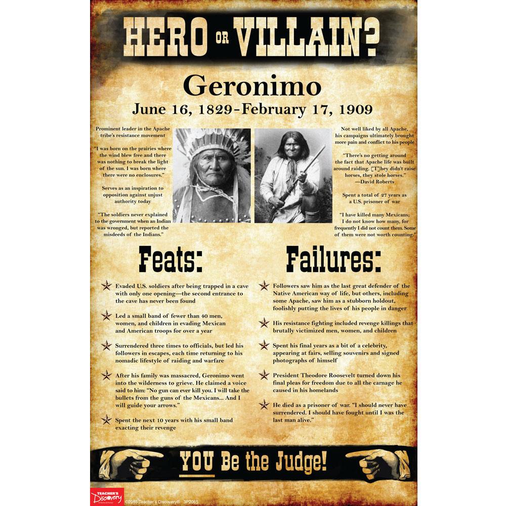 Geronimo: Hero or Villain? Mini-Poster