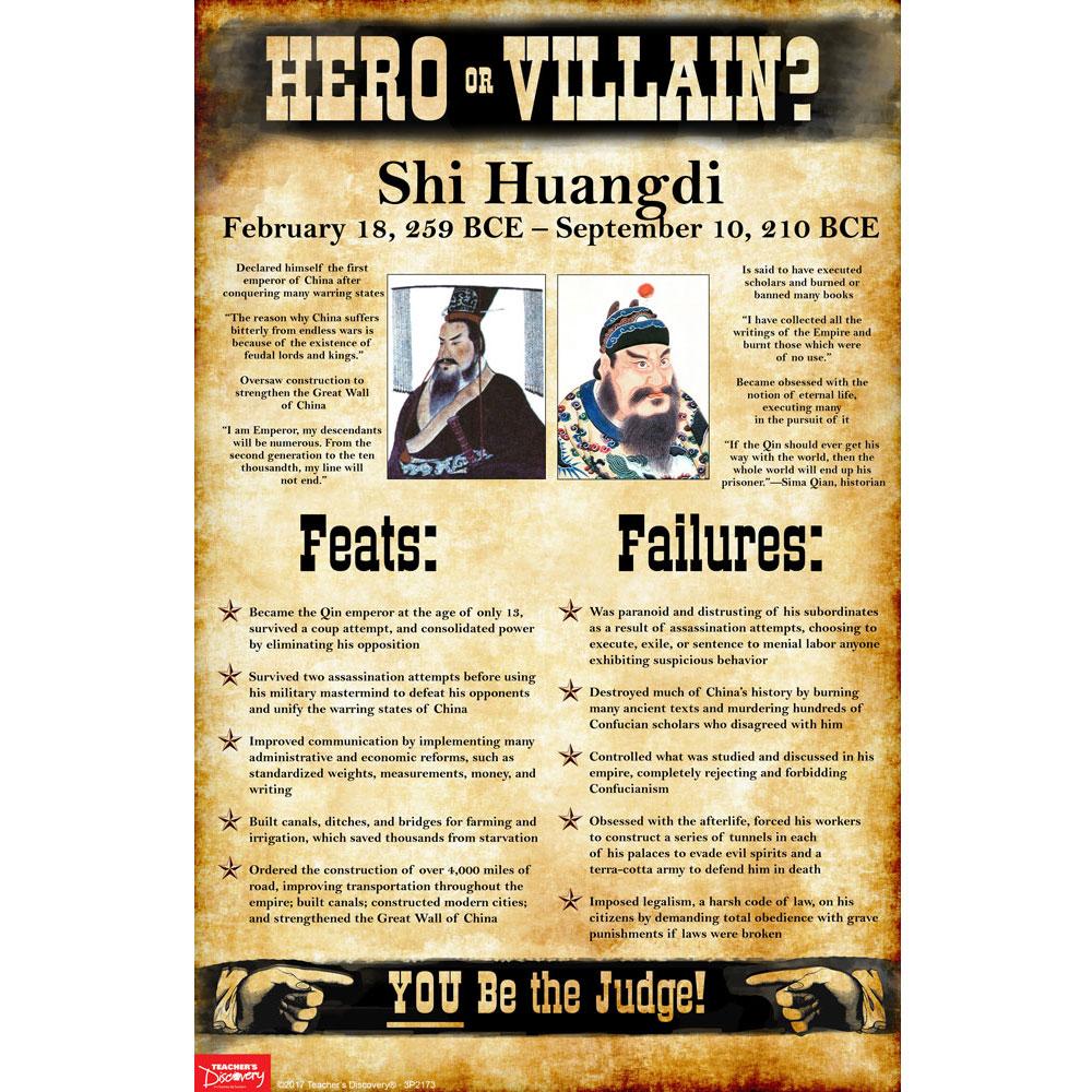 Shi Huangdi: Hero or Villain? Mini-Poster