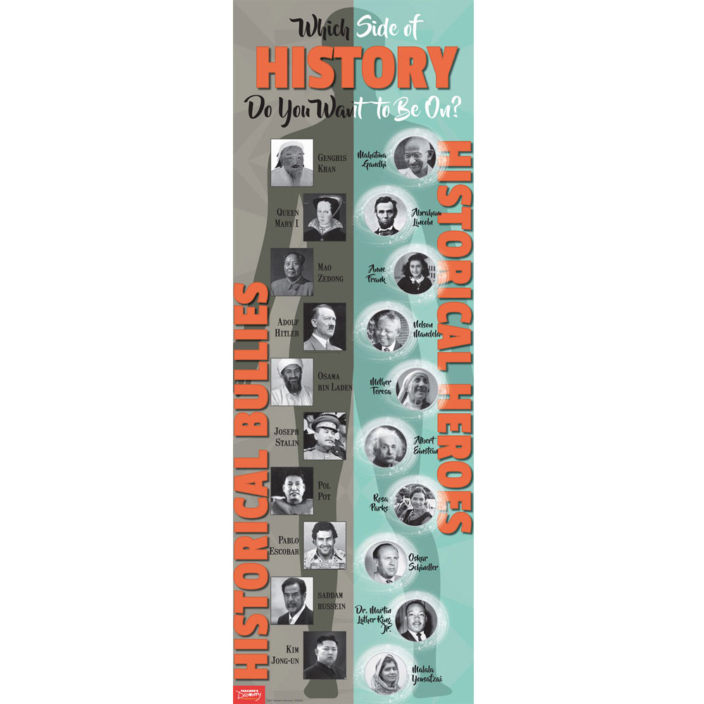 Two Sides of History Skinny Poster
