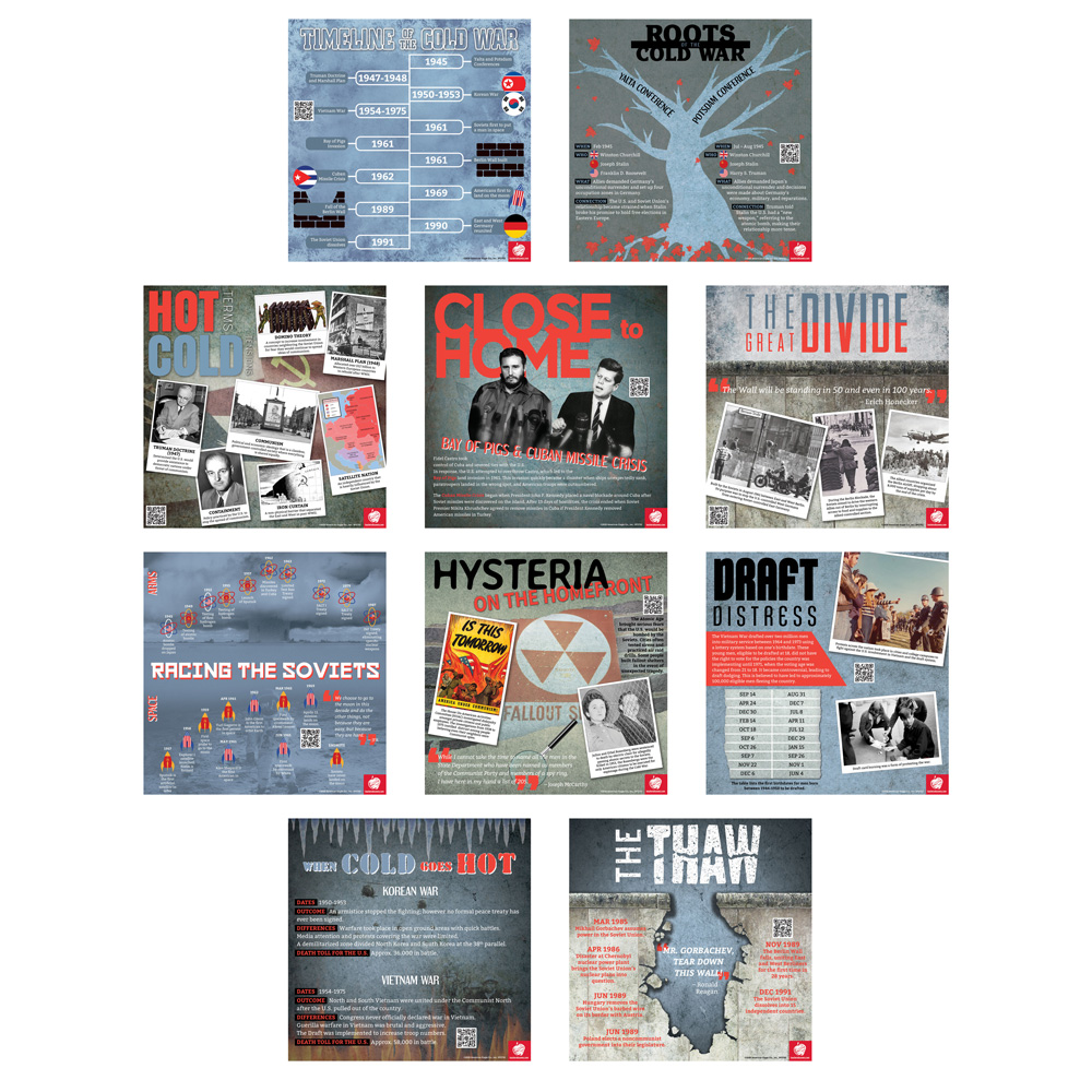 Cold War Enhanced® Mini-Poster Set