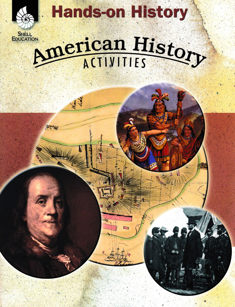 Hands-On History: American History Activities Book