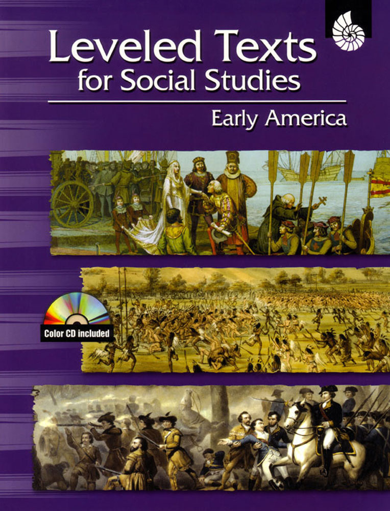 Leveled Texts: Early America Book - Leveled Texts: Early America Print Book