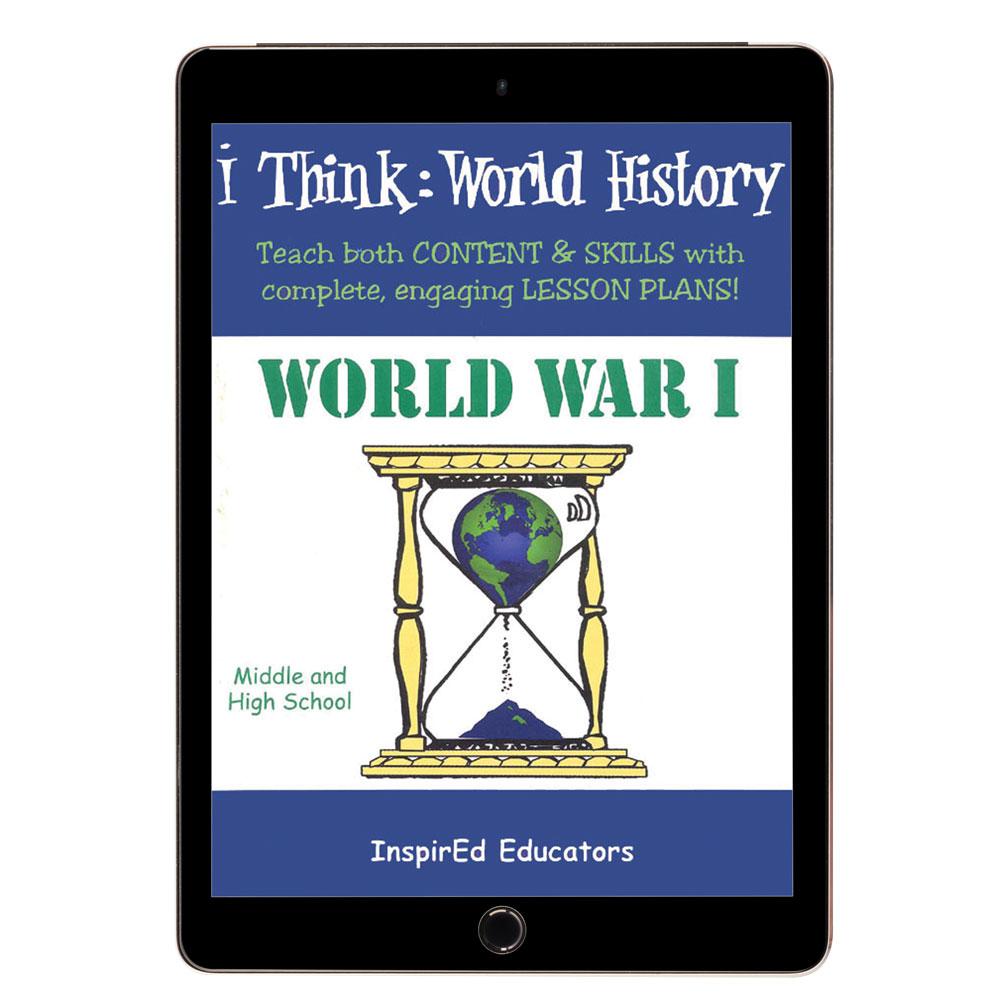 i Think: World History, World War I Activity Book